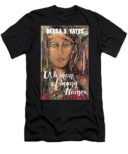 Men's T-Shirt (Slim Fit) featuring the painting book illustration,Nancy Ward by Dawn Fisher