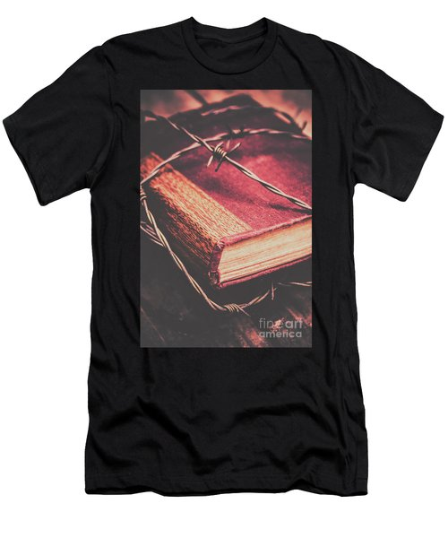 Book Of Secrets, High Security Men's T-Shirt (Athletic Fit)