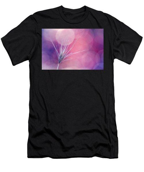 Bokeh Weed Men's T-Shirt (Athletic Fit)