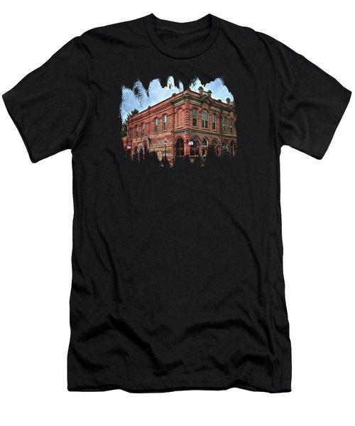 Boomtown Saloon Jacksonville Oregon Usa Men's T-Shirt (Athletic Fit)