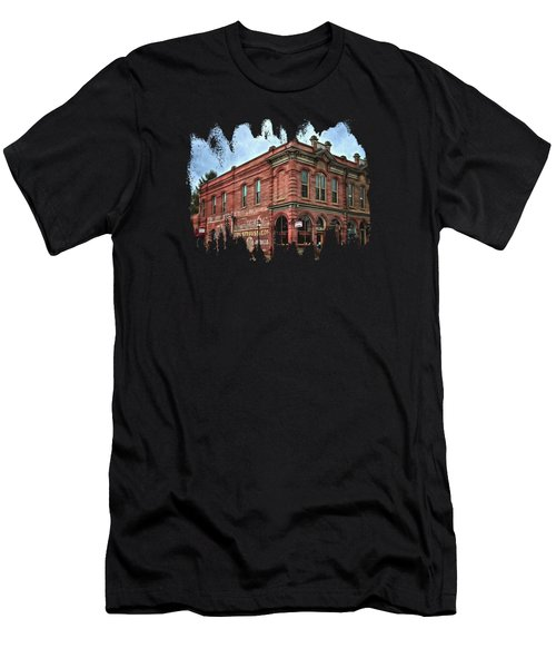 Boomtown Saloon Jacksonville Oregon Usa Men's T-Shirt (Athletic Fit)