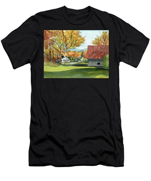 Boone Bungalow And Barn Men's T-Shirt (Athletic Fit)