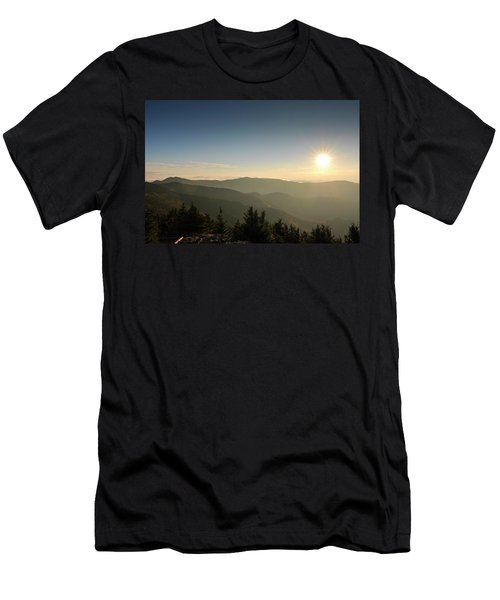 Boone Nc Area Sunset Men's T-Shirt (Athletic Fit)