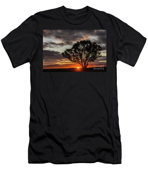 Boorowa Sunset Men's T-Shirt (Athletic Fit)