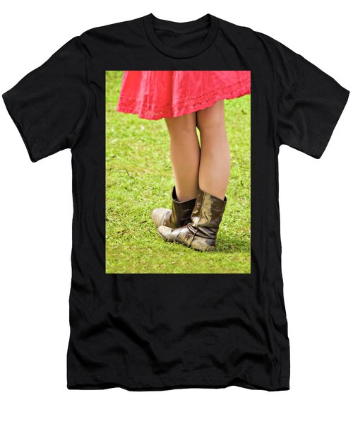 Boot Scootin' Men's T-Shirt (Athletic Fit)