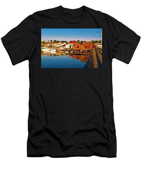 Booth Bay Men's T-Shirt (Athletic Fit)