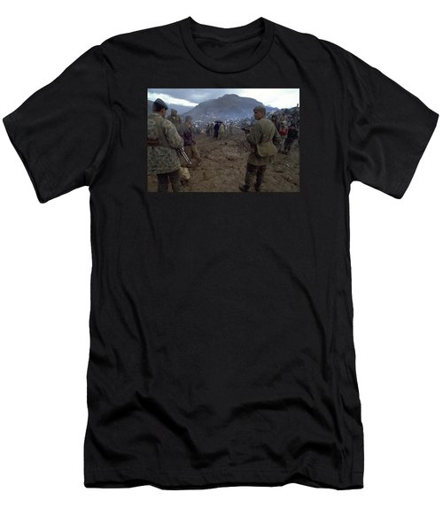Border Control Men's T-Shirt (Athletic Fit)