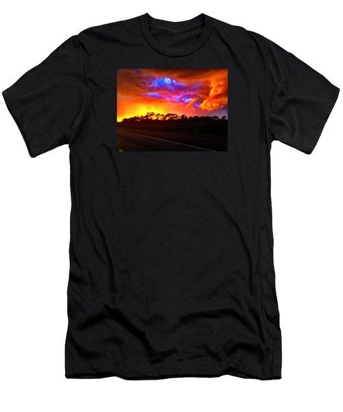 Borderline Men's T-Shirt (Athletic Fit)
