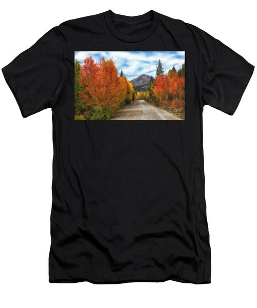 Boreas Mountain Men's T-Shirt (Athletic Fit)