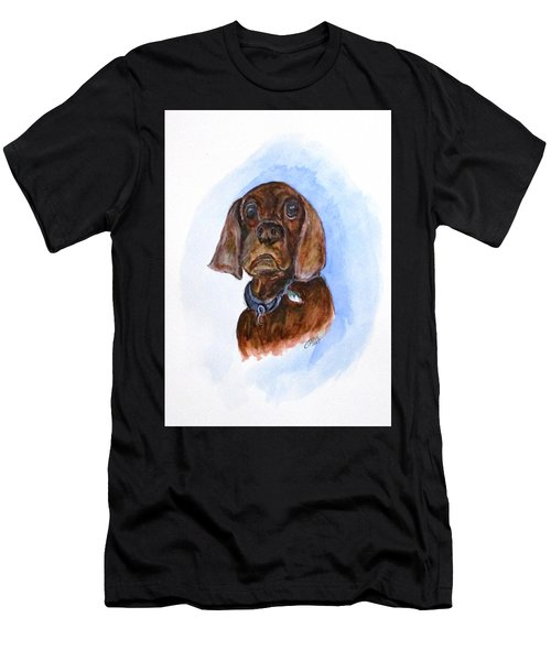 Bosely The Dog Men's T-Shirt (Athletic Fit)