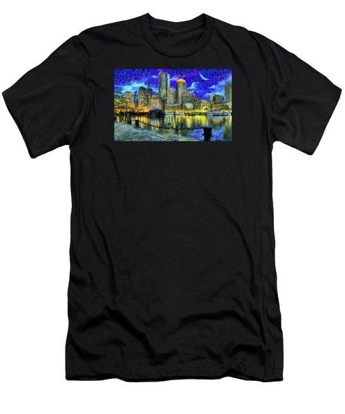 Boston 1 Men's T-Shirt (Athletic Fit)