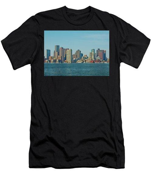 Boston Architecture Men's T-Shirt (Athletic Fit)