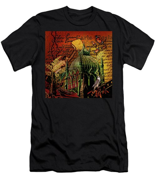Boston Birds....dark Men's T-Shirt (Athletic Fit)