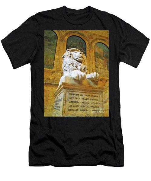 Boston Public Library 5 Men's T-Shirt (Athletic Fit)