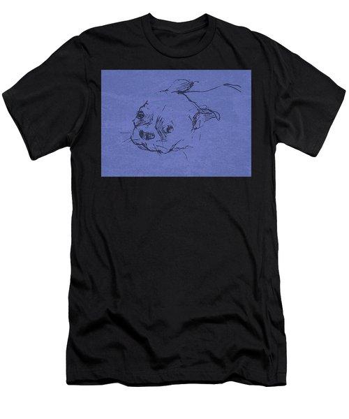 Boston Terrier Men's T-Shirt (Athletic Fit)