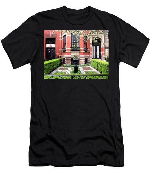 Boston's Back Bay Men's T-Shirt (Athletic Fit)