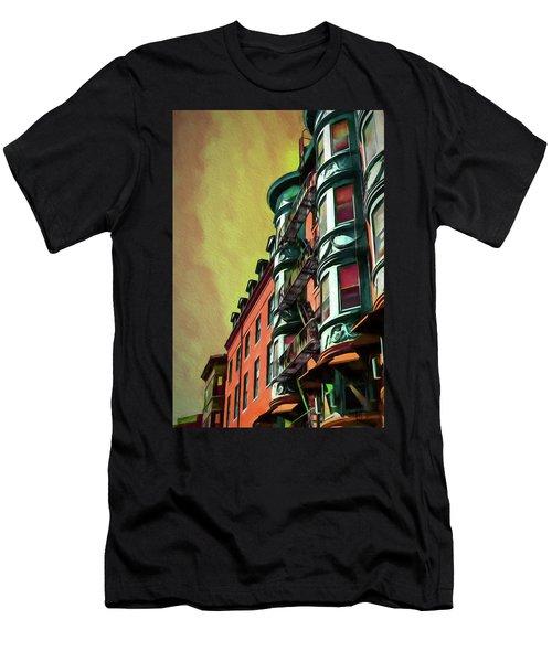 Boston's Famous North Square Men's T-Shirt (Athletic Fit)
