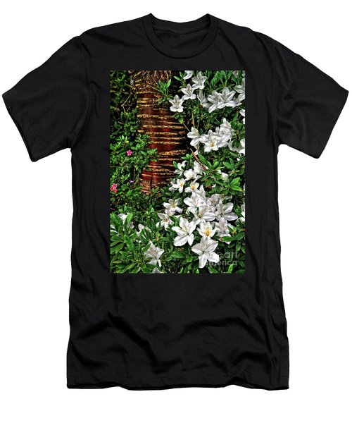 Botanic Garden Flowers Men's T-Shirt (Athletic Fit)