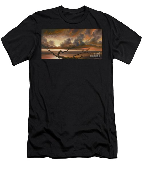 Botany Bay Men's T-Shirt (Slim Fit) by James Christopher Hill