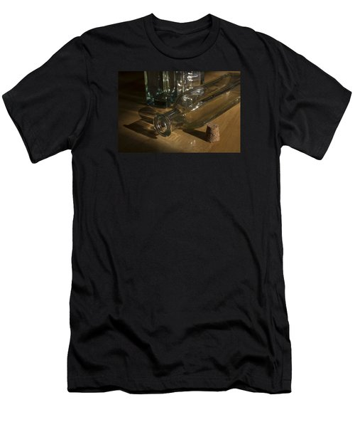 Bottles And Cork 1002 Men's T-Shirt (Athletic Fit)