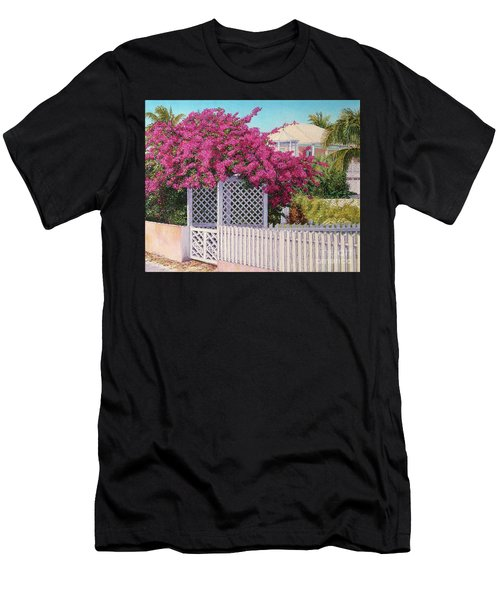 Bougainvillea Crown Men's T-Shirt (Athletic Fit)
