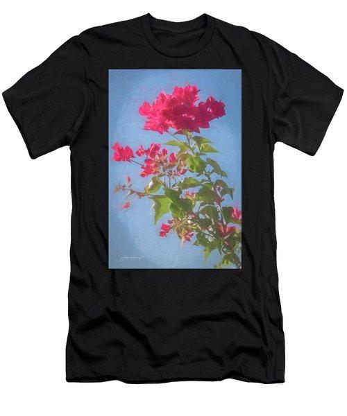 Bougainvillea Morning Men's T-Shirt (Athletic Fit)
