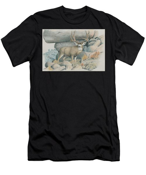 Boulder Buck  Men's T-Shirt (Athletic Fit)