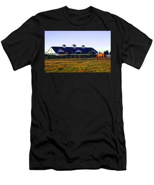 Boulevard Barn Men's T-Shirt (Athletic Fit)