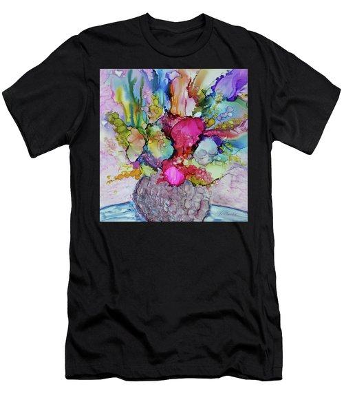Bouquet In Pastel Men's T-Shirt (Athletic Fit)