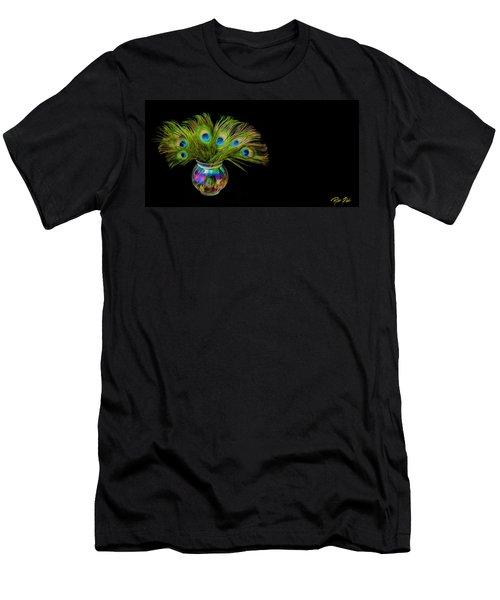 Bouquet Of Peacock Men's T-Shirt (Athletic Fit)
