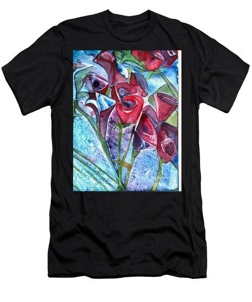 Bouquet Of Roses Men's T-Shirt (Athletic Fit)