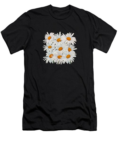 Bouquet Of White Daisies Men's T-Shirt (Athletic Fit)