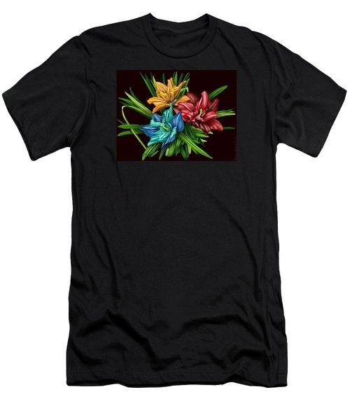 Bouquet#1 Men's T-Shirt (Athletic Fit)