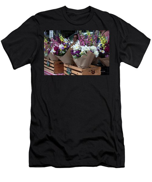 Bouquets For Sale Men's T-Shirt (Athletic Fit)