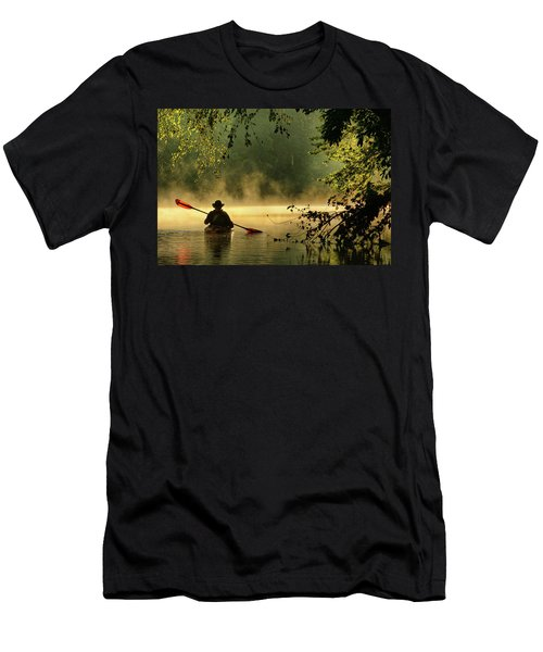 Bourbeuse River  Men's T-Shirt (Slim Fit) by Robert Charity