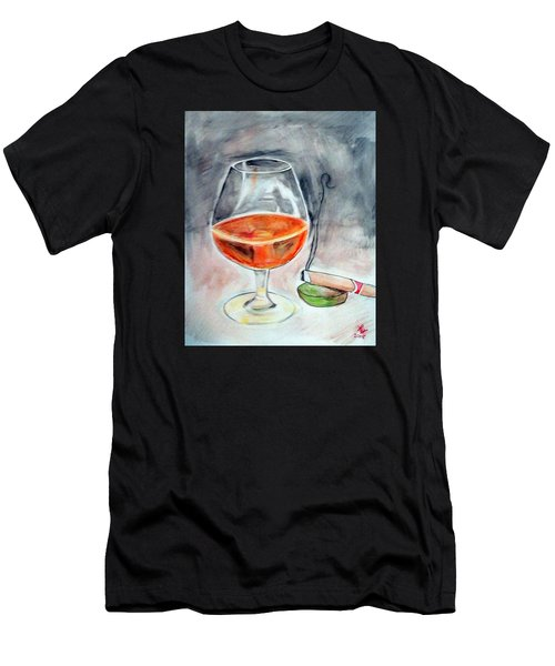 Bourbon And Smoke Men's T-Shirt (Athletic Fit)