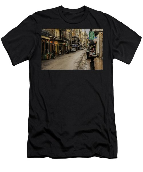 Bourbon Street By Day Men's T-Shirt (Athletic Fit)