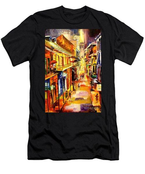 Bourbon Street Glitter Men's T-Shirt (Athletic Fit)