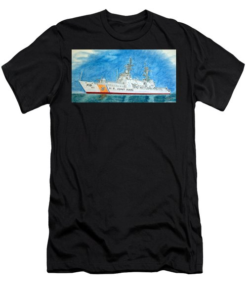 Boutwell-u.s.coast Guard 719 Men's T-Shirt (Athletic Fit)