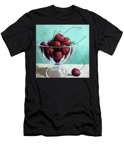 Bowl Of Cherries Men's T-Shirt (Athletic Fit)