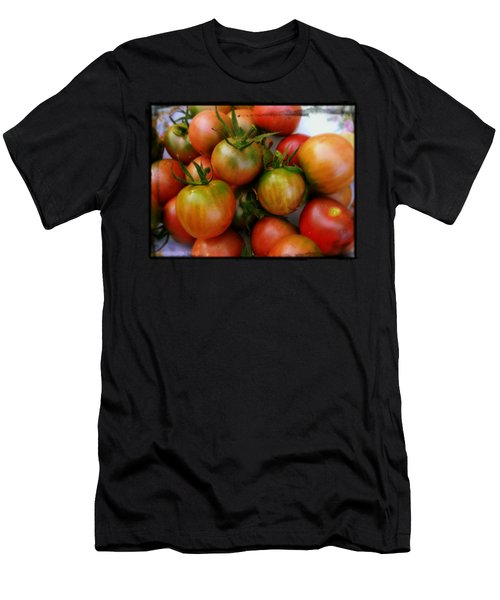 Bowl Of Heirloom Tomatoes Men's T-Shirt (Athletic Fit)