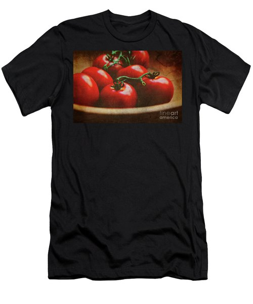 Bowl Of Tomatoes Men's T-Shirt (Athletic Fit)