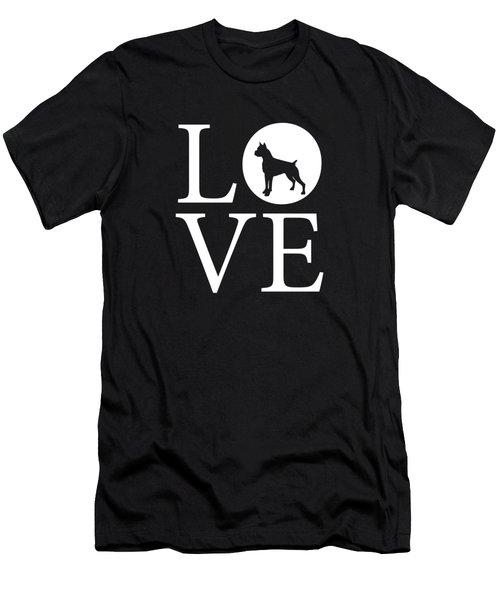 Boxer Love Men's T-Shirt (Athletic Fit)