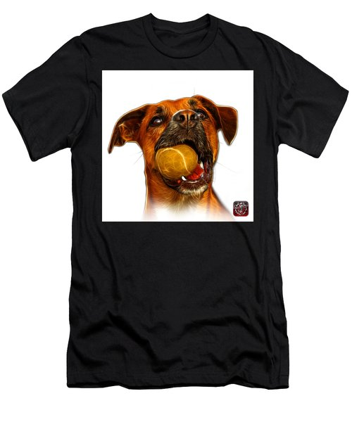 Boxer Mix Dog Art - 8173 - Wb Men's T-Shirt (Athletic Fit)