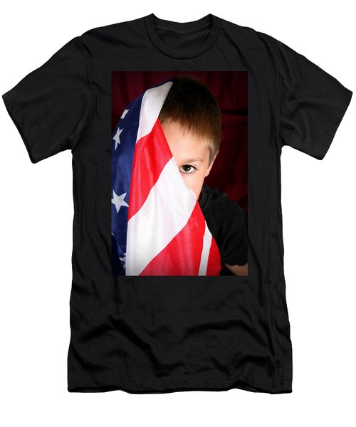 Boy And His Country Men's T-Shirt (Athletic Fit)