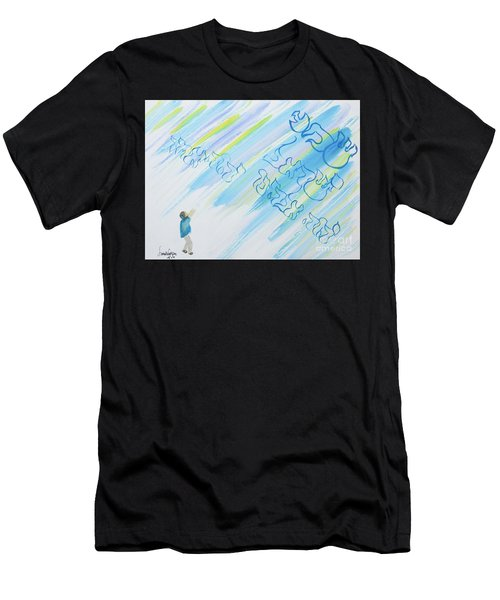 Boy And Shma Shema Men's T-Shirt (Athletic Fit)