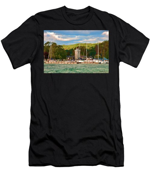 Boyne City Marina Men's T-Shirt (Athletic Fit)