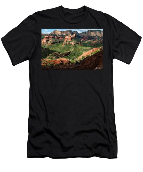 Boynton Canyon 05-942 Men's T-Shirt (Athletic Fit)