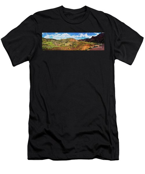 Men's T-Shirt (Slim Fit) featuring the photograph Bracchina Gorge Flinders Ranges South Australia by Bill Robinson