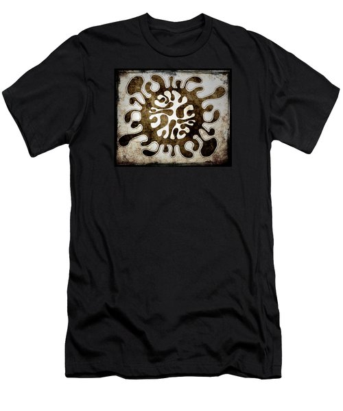Men's T-Shirt (Slim Fit) featuring the drawing Brain Illustration by Lenny Carter